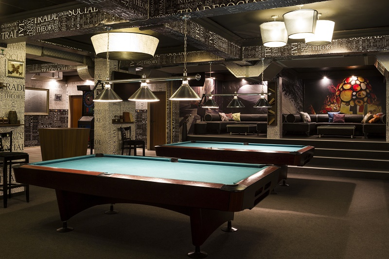 Pool Table Storage