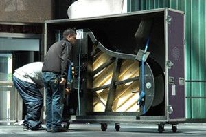 Moving pianos